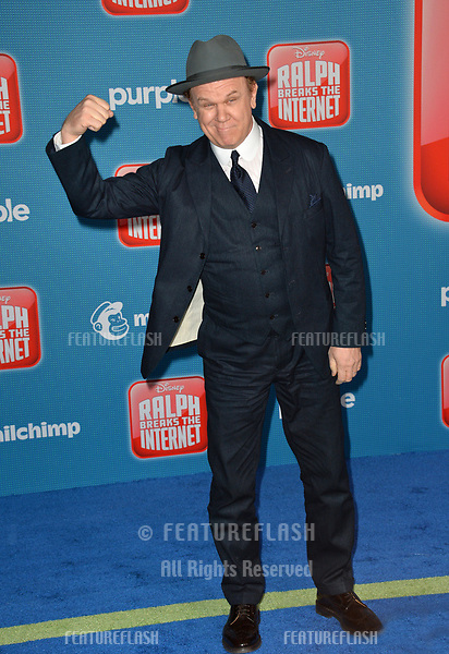 LOS ANGELES, CA. November 05, 2018: John C. Reilly at the world premiere of &quot;Ralph Breaks The Internet&quot; at the El Capitan Theatre.<br /> Picture: Paul Smith/Featureflash