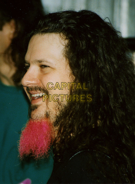DIMEBAG DARRELL ABBOTT of the band DAMAGEPLAN (formerly of PANTERA).Pittsburgh, PA, USA, November 28, 2004.  .Was shot and killed during the band's first song Wednesday, December 8th 2004.  .Four other people, including the shooter, were killed in the Columbus, Ohio, shooting. .portrait headshot profile red beard.Ref: ADM.www.capitalpictures.com.sales@capitalpictures.com.©Capital Pictures.
