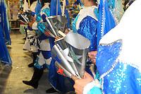 SAO PAULO, SP, 19 DE FEVEREIRO 2012 - CARNAVAL SP - UNIDOS DO PERUCHE - Desfile da escola de samba Unidos do Peruche na terceira noite do Carnaval 2012 de São Paulo, no Sambódromo do Anhembi, na zona norte da cidade, neste domingo.(FOTO:ADRIANO LIMA  - BRAZIL PHOTO PRESS).
