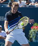 Richard Gasquet (FRA) wins over David Ferrer (ESP) in 5 sets, 6-3, 6-1, 4-6, 2-6, 6-3 at the US Open being played at USTA Billie Jean King National Tennis Center in Flushing, NY on September 4, 2013