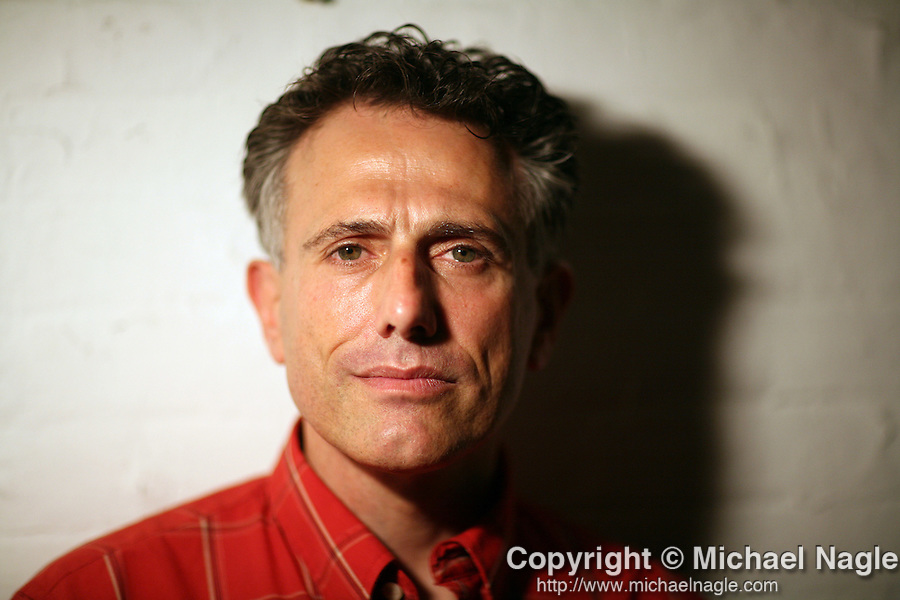 NEW YORK - AUGUST 12, 2007:  Actor David Greenspan in his West Village apartment on August 12th, 2007 in New York City.  (PHOTOGRAPH BY MICHAEL NAGLE)