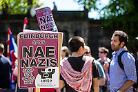 Anti-Fascism March - UAF - Edinburgh - 26 May 2012