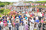 CROWDS: Great day for mass at Our Lady's Blessed Well were a large crowd attended the annaul Ballyheigue Pattern Day Mass  on Saturday.