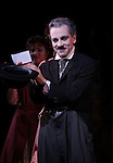 Rob McClure during the Curtain Call and check presentation to The Lil' Bravest Charity at 'Chaplin' at the Barrymore Theatre in New York City on 11/09/2012