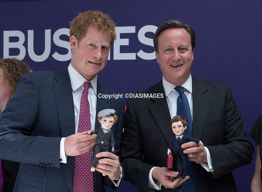 PRINCE HARRY AND PRIME MINISTER DAVID CAMERON.visit The GREAT Event, Milk Studios, New York city, New York_14/05/2013.The GREAT campaign is led by the UK Department for Culture, Media and Sport (DCMS), and promotes the UK..Prince Harry is on a week long USA visit the includes Washington, Denver, Colorado Springs, New Jersey, New York and Conneticut..Mandatory credit photo:©DIASIMAGES.NO UK USE FOR 28 DAYS