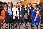 Carmel and Ted Browne, Mary and Denis Murphy, Denise Kane and Diarmuid and Dolores Begley enjoying the Dingle GAA social night at the Skellig Hotel on Friday night.