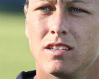 Abby Wambach #20 of the Washington Freedom during a WPS match against the Boston Breakers on May 8 2010, at the Maryland Soccerplex, in Boyds, Maryland. The game ended in a 0-0 tie.