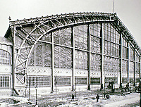 The Galerie des Machines was a pavilion designed for the 1889 Paris International Exhibition—L'Exposition Tricolorée—by architect Ferdinand Dutert.
