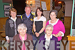 At the Derrynane GAA Annual Dinner Dance in The Scariff Inn on Friday night were front l-r;Joan Rayel, Breda Clifford, back l-r; Maureen O'Donoghue, Eddie O'Donoghue, Ann Clifford & Mary O'Farrell.