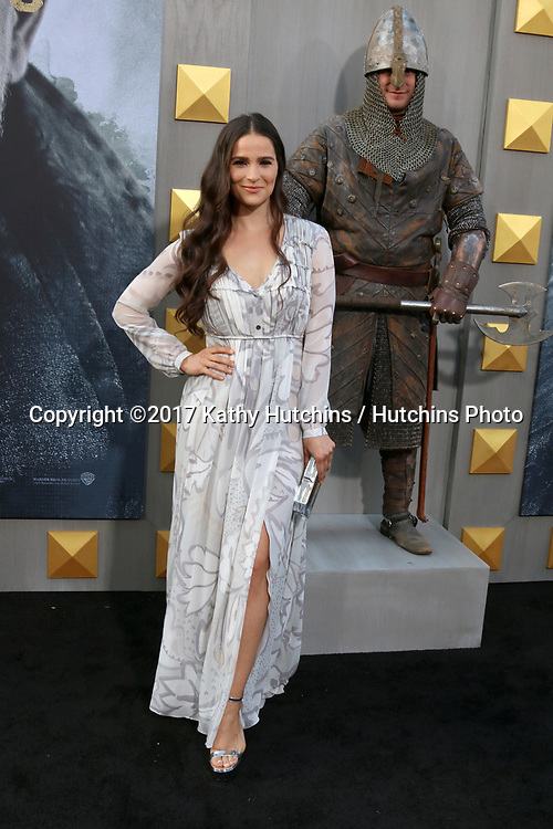 "LOS ANGELES - MAY 8:  Gianna Simone at the ""King Arthur Legend of the Sword"" World Premiere on the TCL Chinese Theater IMAX on May 8, 2017 in Los Angeles, CA"