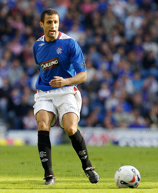 Brahim Hemdani, Rangers.stock season 2006-2007.pic willie vass