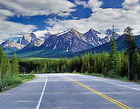Icefield Parkway road. Canada