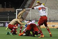 Itu (SP), 11/01/2020 - Fluminense-CRB AL - Jogadores do CRB comemoram classificação. Partida entre Fluminense e CRB-AL pela Copa São Paulo de Futebol Junior no estádio Noveli Junior em Itu neste sábado (11).