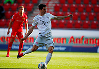 17th May 2020,Stadion An der Alten Försterei, Berlin, Germany; Bundesliga football, FC Union Berlin versus Bayern Munich;  Robert Lewandowski of Bayern takes and scores from the penalty spot for 1-0 in the 40th minute