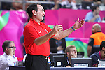 07.09.2014. Barcelona, Spain. 2014 FIBA Basketball World Cup, round of 8. Picture show Mike Krzyzewski in action during game between Slovenia v Usa at Palau St. Jordi.
