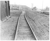 Construction of new loop in Durango yard.  Cinder pit crossing.<br /> D&amp;RGW  Durango, CO  Taken by Payne, Andy M. - 5/30/1968