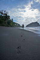 Termales Beach Near El Cantil - Pacific Coast - Colombia