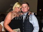 Jamie Brannigan celebrating his 21st birthday in the Thatch with godmother Eilish Murray. Photo:Colin Bell/pressphotos.ie