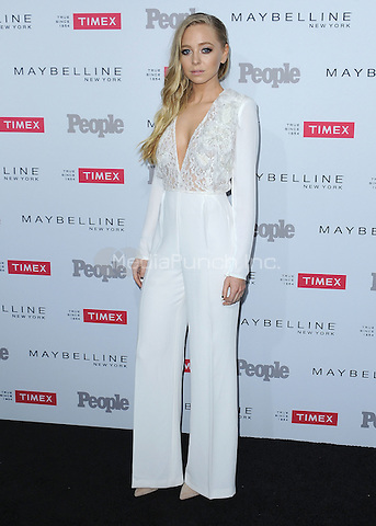 "LOS ANGELES, CA - SEPTEMBER 16:  Portia Doubleday at the People's ""Ones to Watch"" Event at Ysabel on September 16, 2015 in Los Angeles, California. Credit: PGSK/MediaPunch"