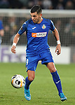 Getafe CF's Angel Rodriguez during UEFA Europa League match. December 12,2019. (ALTERPHOTOS/Acero)