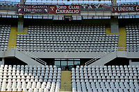 16th July 2020; Olympic Grande Torino Stadium, Turin, Piedmont, Italy; Serie A Football, Torino versus Genoa; playing a game in serie A with an empty stadium