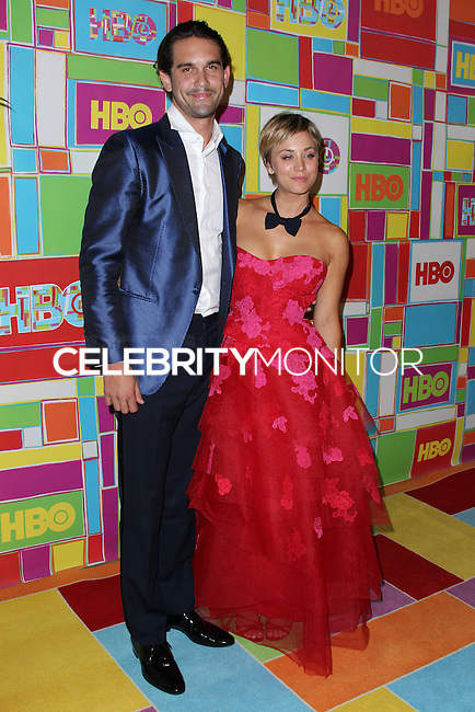 WEST HOLLYWOOD, CA, USA - AUGUST 25: Ryan Sweeting, Kaley Cuoco at HBO's 66th Annual Primetime Emmy Awards After Party held at the Pacific Design Center on August 25, 2014 in West Hollywood, California, United States. (Photo by Xavier Collin/Celebrity Monitor)