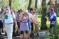 WANDELSPORT: Dokkum - Leeuwarden: 07-05-2016, Elfstedenwandeltocht, (Fryske Dei), ©foto Martin de Jong