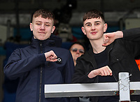 Leeds United's supporters before today's match<br /> <br /> Photographer Andrew Kearns/CameraSport<br /> <br /> The Emirates FA Cup Third Round - Queens Park Rangers v Leeds United - Sunday 6th January 2019 - Loftus Road - London<br />  <br /> World Copyright &copy; 2019 CameraSport. All rights reserved. 43 Linden Ave. Countesthorpe. Leicester. England. LE8 5PG - Tel: +44 (0) 116 277 4147 - admin@camerasport.com - www.camerasport.com
