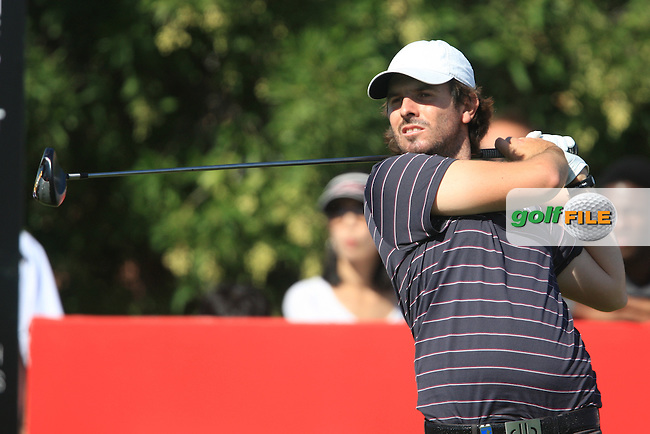 Thomas Aiken (RSA) on the third day of the DUBAI WORLD CHAMPIONSHIP presented by DP World, Jumeirah Golf Estates, Dubai, United Arab Emirates.Picture Denise Cleary www.golffile.ie