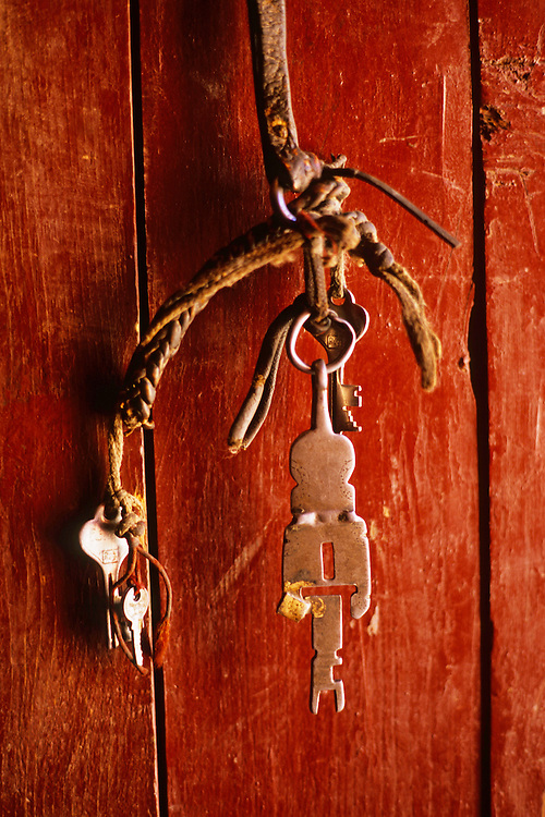 Key of a monastery door, Mustang Valley, Nepal, 2008