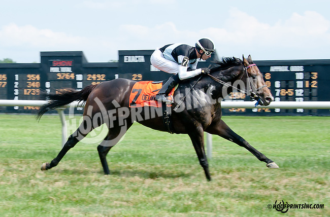 Craftsman winning at Delaware Park on 7/10/14