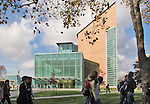 Seattle, University of Washington, Gates Hall, UW School of Law, named after William H. Gates, Sr., father of the Microsoft co-founder Bill Gates who endowed the building in his name.Washington State, Pacific Northwest, USA, Kohn Pedersen Fox, Architects,.