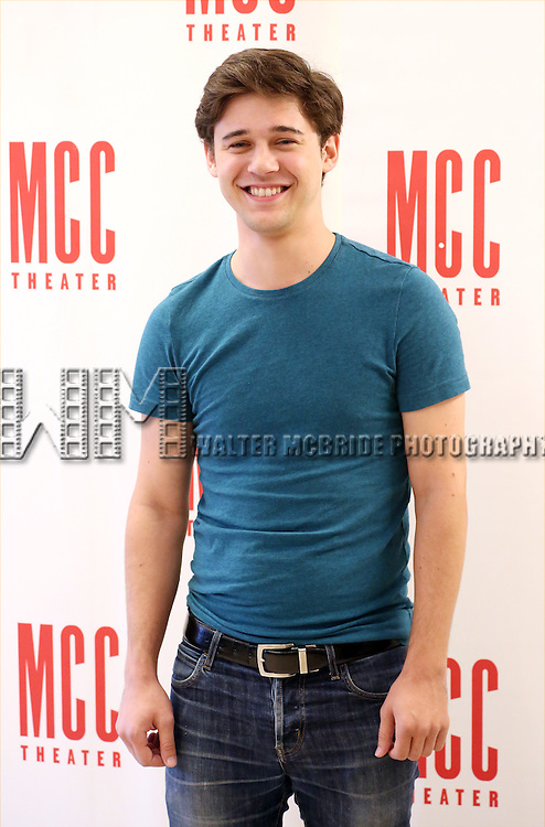 Josh Green attends 'Lost Girls' Cast Photo Call at MTC Rehearsal Studios on September 22, 2015 in New York City.