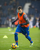 2nd December 2017, The Hawthorns, West Bromwich, England; EPL Premier League football, West Bromwich Albion versus Crystal Palace; Luka Milivojevic of Crystal Palace warming up with a ball before the match