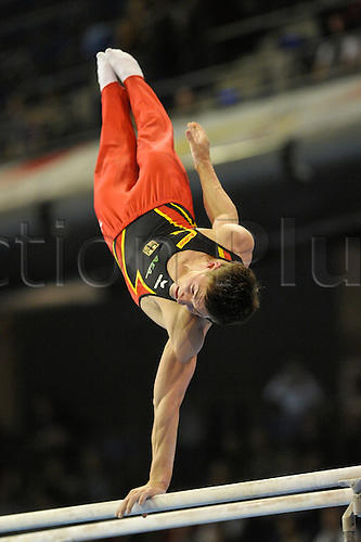 07.04.2011 European Championships Artistic Gymnastics from Berlin.Mens Qualifications.Phillippe Boy of Germany