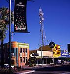 Australia Small town centre buildings, Mildura, Victoria, Australia