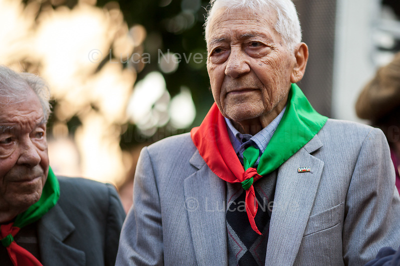 "Mario Di Maio & Arnaldo ""Nando"" Cavaterra (Antifascist Partizans. Members of the Partigiani: the Italian Resistance during WWII).<br />