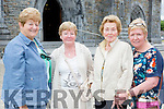 Rena O'Rourke, Helen Dunlea, Una Kavanagh and Breda Moriarty Killarney  who visited the relic of St Anthony in St Mary's Cathedral on Friday