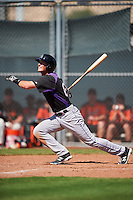 Colorado Rockies Tyler Bugner (67) during an Instructional League game against the San Francisco Giants on October 8, 2016 at the Giants Baseball Complex in Scottsdale, Arizona.  (Mike Janes/Four Seam Images)