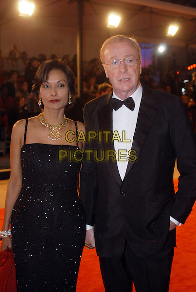 MICHAEL & SHAKIRA CAINE.The Orange British Film Academy Awards BAFTAS at Odeon Leicester Square.www.capitalpictures.com.sales@capitalpictures.com.© Capital Pictures