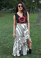 NEW YORK, NY - SEPTEMBER 24, 2016 Priyanka Chopra backstage at the Global Citizen Festival, September 24, 2016 in New York City. Photo Credit: Walik Goshorn / Mediapunch