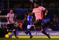 Lamine Kone of Sunderland in action during the Sky Bet Championship match between Birmingham City and Sunderland at St Andrews, Birmingham, England on 30 January 2018. Photo by Bradley Collyer / PRiME Media Images.