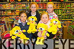 Winners Evelyn Fox, Maeve Fitzgerald , Amy Heaphy , Leanna Williams  at Caballs Toystore prize presentation on Saturday