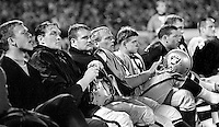 Oakland Raider bench 1967. (photo/Ron Riesterer)
