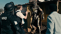 District 9 (2009)<br /> Sharlto Copley<br /> *Filmstill - Editorial Use Only*<br /> CAP/KFS<br /> Image supplied by Capital Pictures