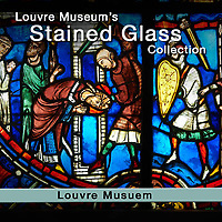 MuseoPics - Photos of  Louvre Museum Gothic Stained Glass, Pictures & Images