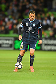 3rd November 2017, Melbourne Rectangular Stadium, Melbourne, Australia; A-League football, Melbourne City FC versus Sydney FC; Bobo of Sydney FC gains possession of the ball
