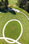 Graphic image of walking paths in Seattle's Jefferson Park reservoir park