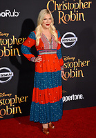 Tori Spelling at the world premiere of Disney's &quot;Christopher Robin&quot; at Walt Disney Studios, Burbank, USA 30 July 2018<br /> Picture: Paul Smith/Featureflash/SilverHub 0208 004 5359 sales@silverhubmedia.com