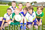 CAMP: At the VHI GAA Cu?l Camp in Keel last week were, l-r: Fionn Carr, Morgan Sayers, Jack O'Sullivan, William Hickey, Daniel Hickey, Adam Kelliher, Daniel Ashe, Sean Cremins.